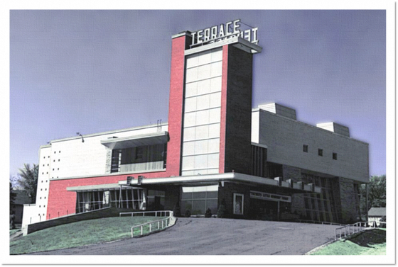 Demolitions cinema treasures for Terrace theater movies