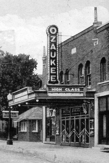 OZAUKEE Theatre; Port Washington, Wisconsin.