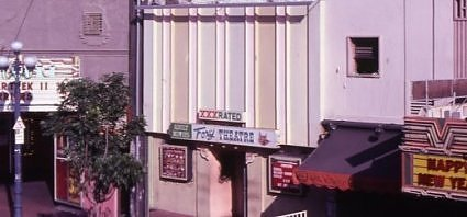 Foxy Theatre, 5th Avenue San Diego