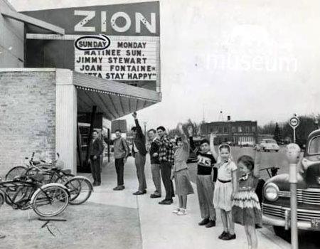 ZION Theatre; Zion, Illinois.