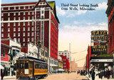 SAXE'S (NEW STAR, EMPRESS, GAYETY, ORPHEUM) Theatre; Milwaukee, Wisconsin.