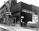 1956 Miller Theatre photo credit Don Peasely Photo Collection. McHenry County Historical Society.