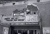 1962 Miller Theatre photo credit Don Peasely Photo Collection. McHenry County Historical Society.