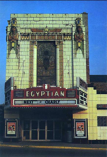 EGYPTIAN Theatre; DeKalb, Illinois.