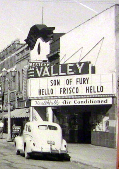 VALLEY Theatre; Menasha, Wisconsin.