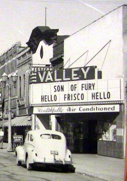 VALLEY Theatre; Menasha, Wisconsin.