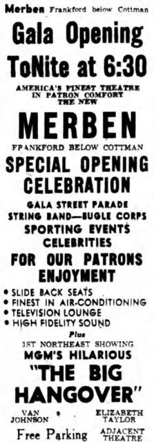 August 16th, 1950 grand opening ad