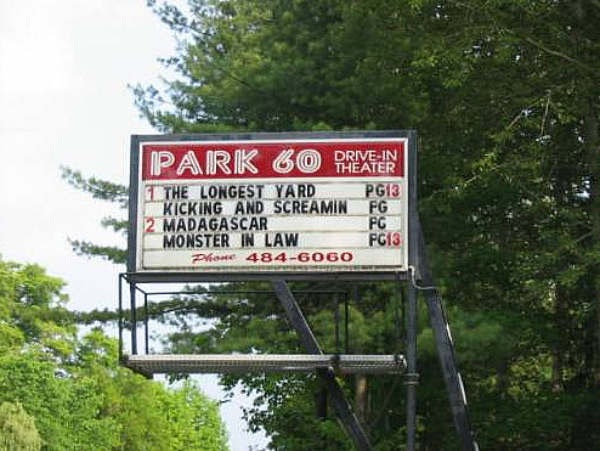 Park 60 drive in jamestown ny