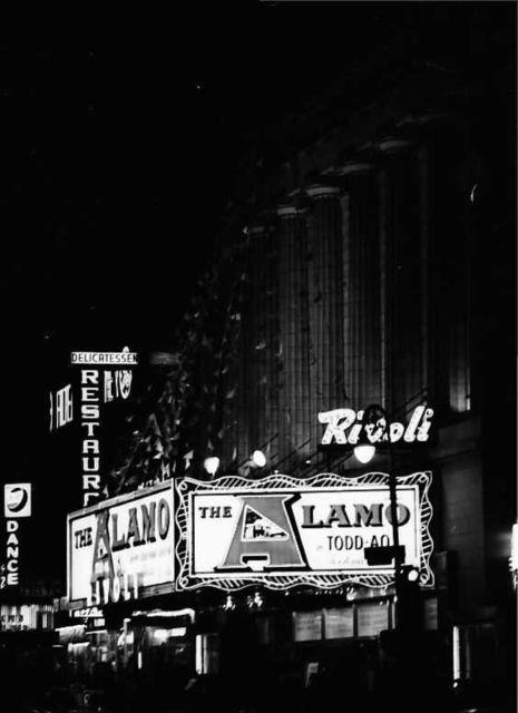 Rivoli Theatre NYC 1960