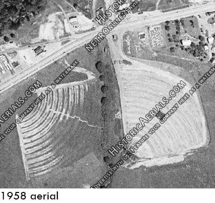1958 aerial photo