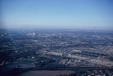 <p>Photographed by my dad in early 1970, the South Drive-In is at the lower left. Just above the drive-in is the Carolina Yard owned and operated by the original Norfolk Southern Railway.</p>