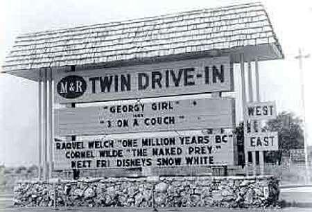 Wheeling Twin Drive-In