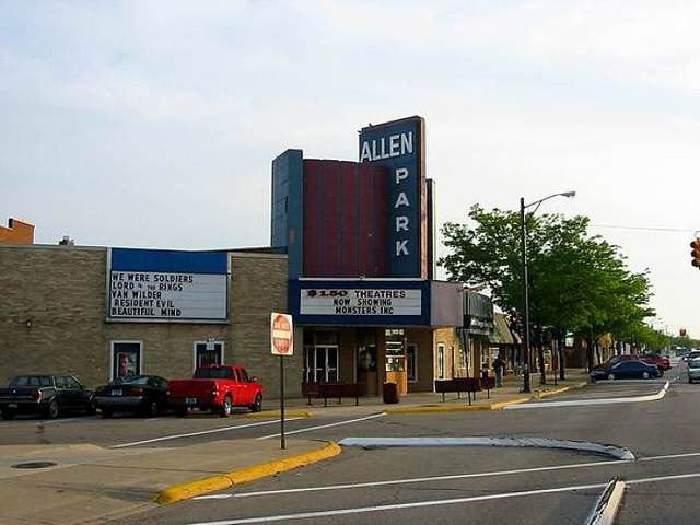 Movie corporation in allen park mi