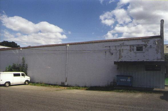 Exterior left side of building