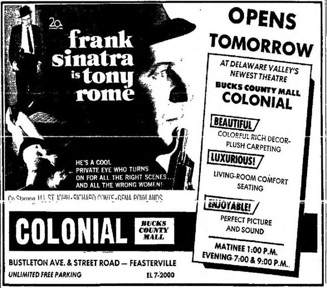 December 27th, 1967 grand opening ad