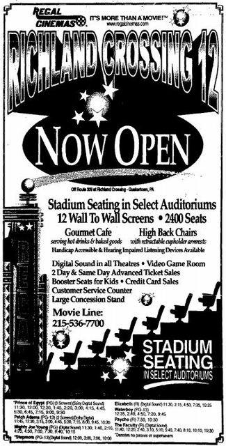 January 1st, 1999 grand opening ad
