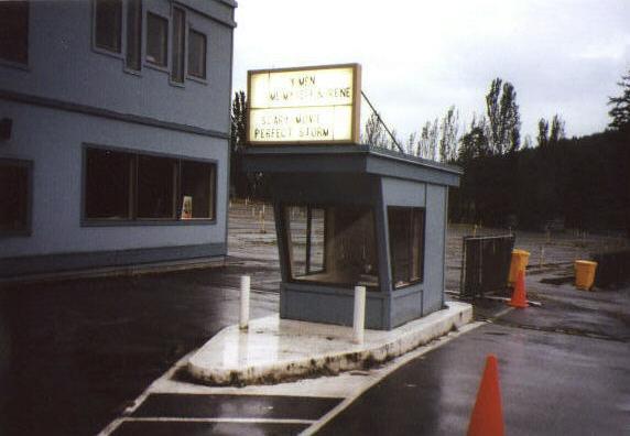 Boxoffice and entrance
