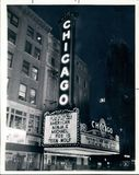 Chicago Theatre.  September 19, 1985