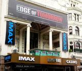 Empire Leicester Square IMAX Advertising on Facade