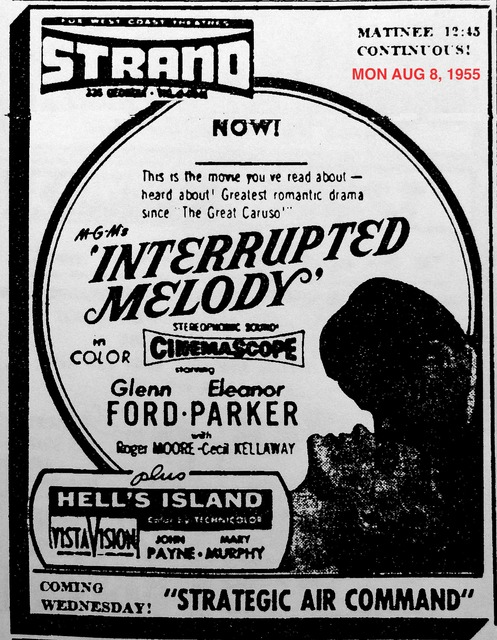 AD FOR INTERRUPTED MELODY