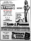 AD FOR LAND OF THE PHARAOHS