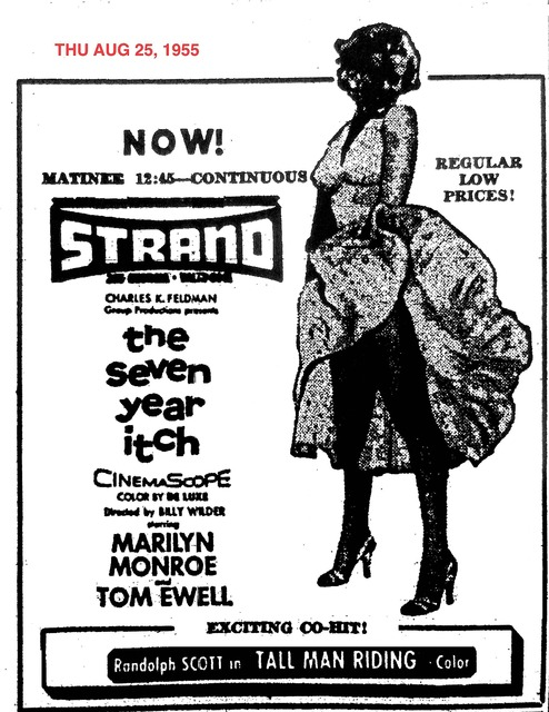 AD FOR THE SEVEN YEAR ITCH