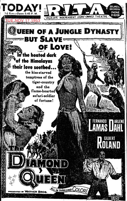 AD FOR THE DIAMOND QUEEN