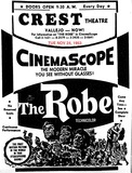 AD FOR THE PREMIERE OF THE ROBE