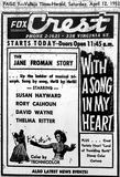 AD FOR WITH A SONG IN MY HEART #2