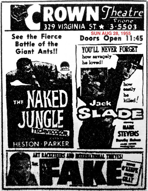 AD FOR THE NAKED JUNGLE