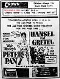 AD FOR PETER PAN