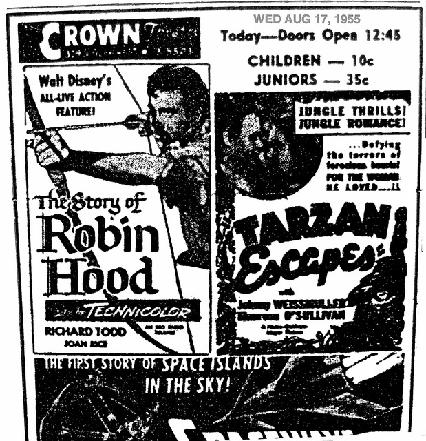 AD FOR ROBIN HOOD