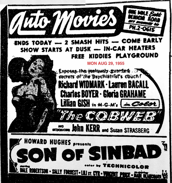 AD FOR THE COBWEB