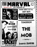 AD FOR MARVEL THEATRE THE BLUE VEIL