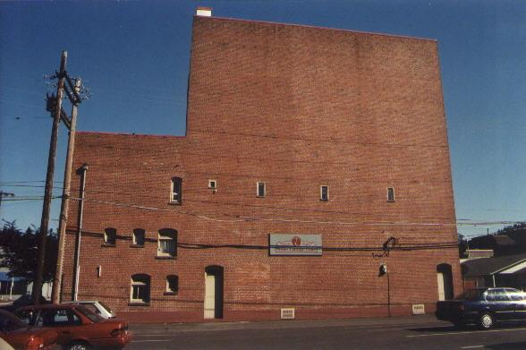 Rear of theater