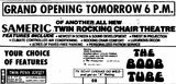 June 25th, 1976 grand opening ad as a twin