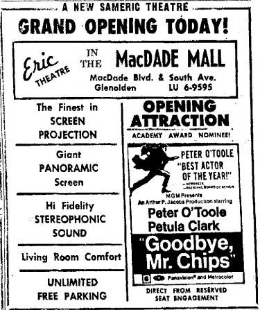 March 21st, 1970 grand opening ad