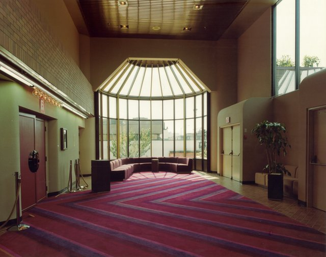 Capitol 6 lobby near Cinema 6