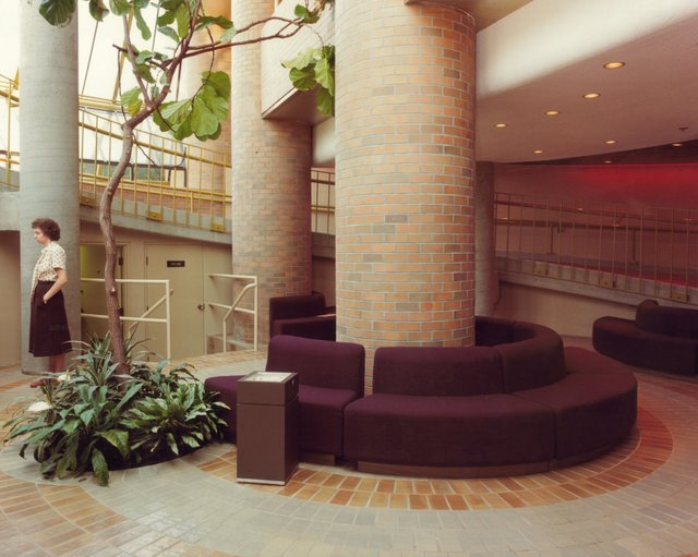 Lower lobby waiting area