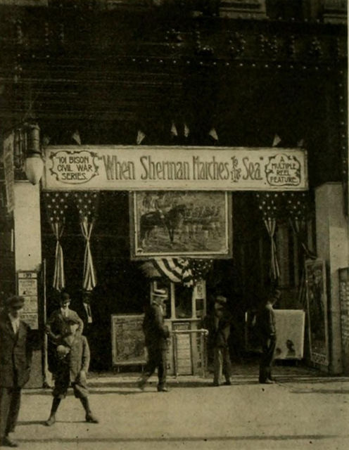 Entrance, Colonial Theatre, Rochester, New York, 1913