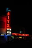 Ritz Theatre marquee, post renovation