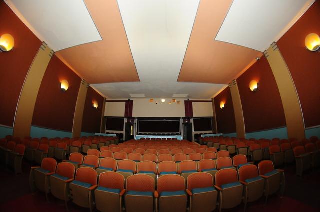 Ritz Theatre, interior, post renovation