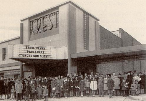 The Crest theater 1959