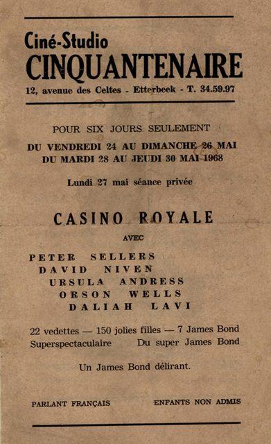 Cinquantenaire Cinema