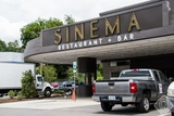 Sinema in the old Melrose Theatre building