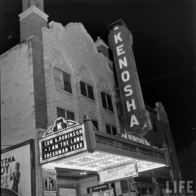 KENOSHA Theatre (1938), 1938 (LIFE Magazine)