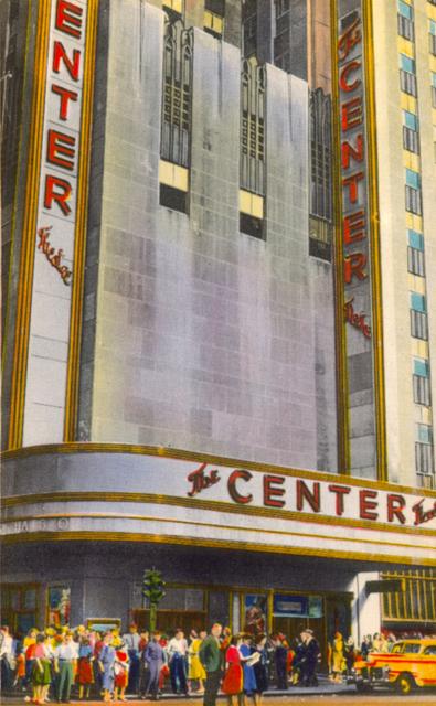 Centre Theatre, 1940's