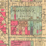 1941 Baist map Fountain Square