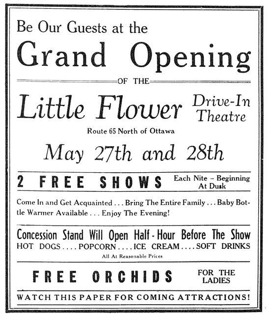 Little Flower Drive-In