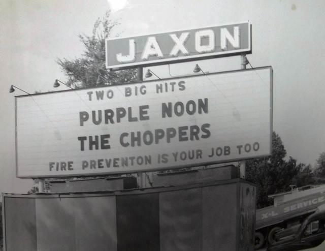 Jaxon Drive-In marquee